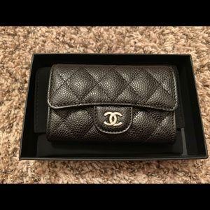 Chanel Caviar Card Holder